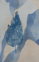 Caroline Younger: Floating Blue Leaf, 2016